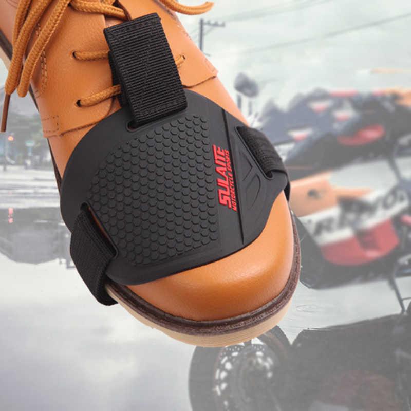 耐久性のあるノブシフターカバーシフトブーツ靴プロガードオートバイモトクロスモーター部品送料メンズモーターボート男保護ギア