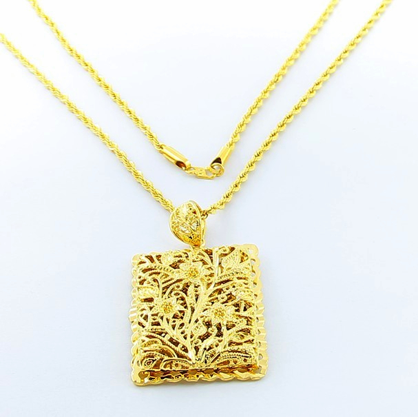 polished in sterling gold plated chain on product highly rectangular pendant silver pillow