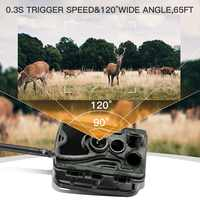 4G MMS 16MP Hunting Trail Camera HC801LTE Wildlife Surveillance Cameras Photos and Video 0.3S Trigger Infrared