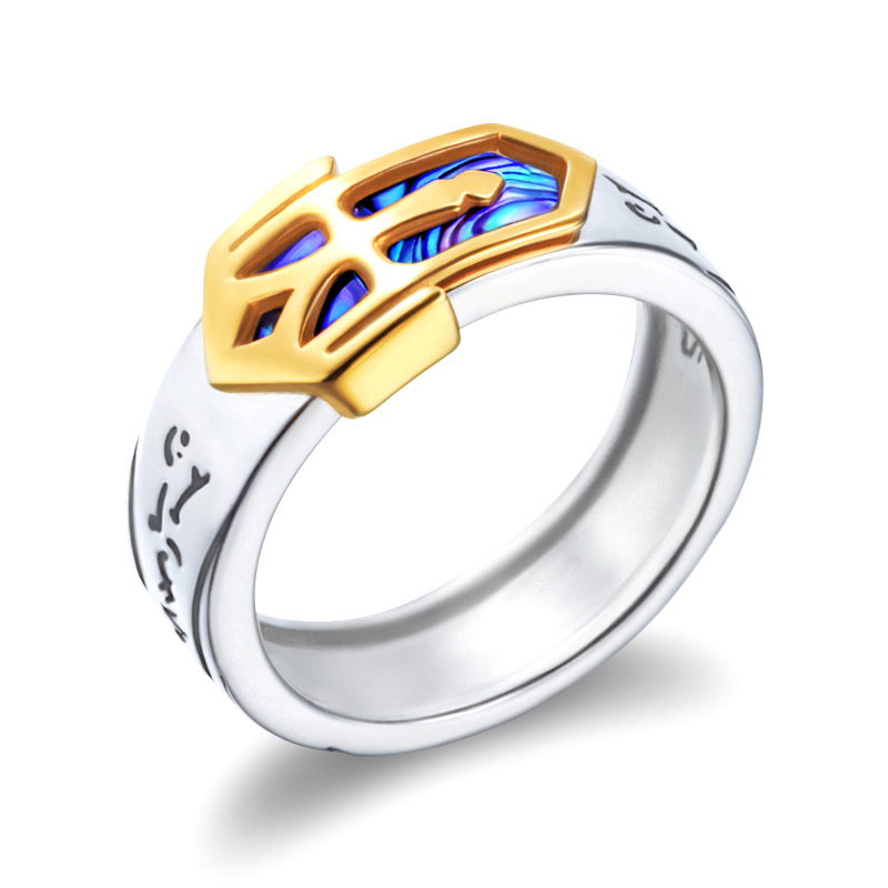 Fate Stay Night Saber Excalibur 925 Zilveren Ringen-in Ringen van Sieraden & accessoires op  Groep 1