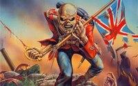 ORIGINAL ART Iron Maiden Death Heavy Metal ROCK MUSIC TOP Oil Painting 40inch Art Painting