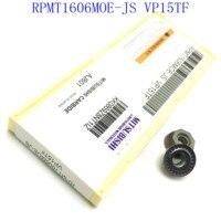 cnc חותך הפנים טחינה חותך 20PCS אביזרים RPMT1606MOE VP15TF באיכות גבוהה להב קרביד ללבוש עמידים חותך מחרטה CNC (1)