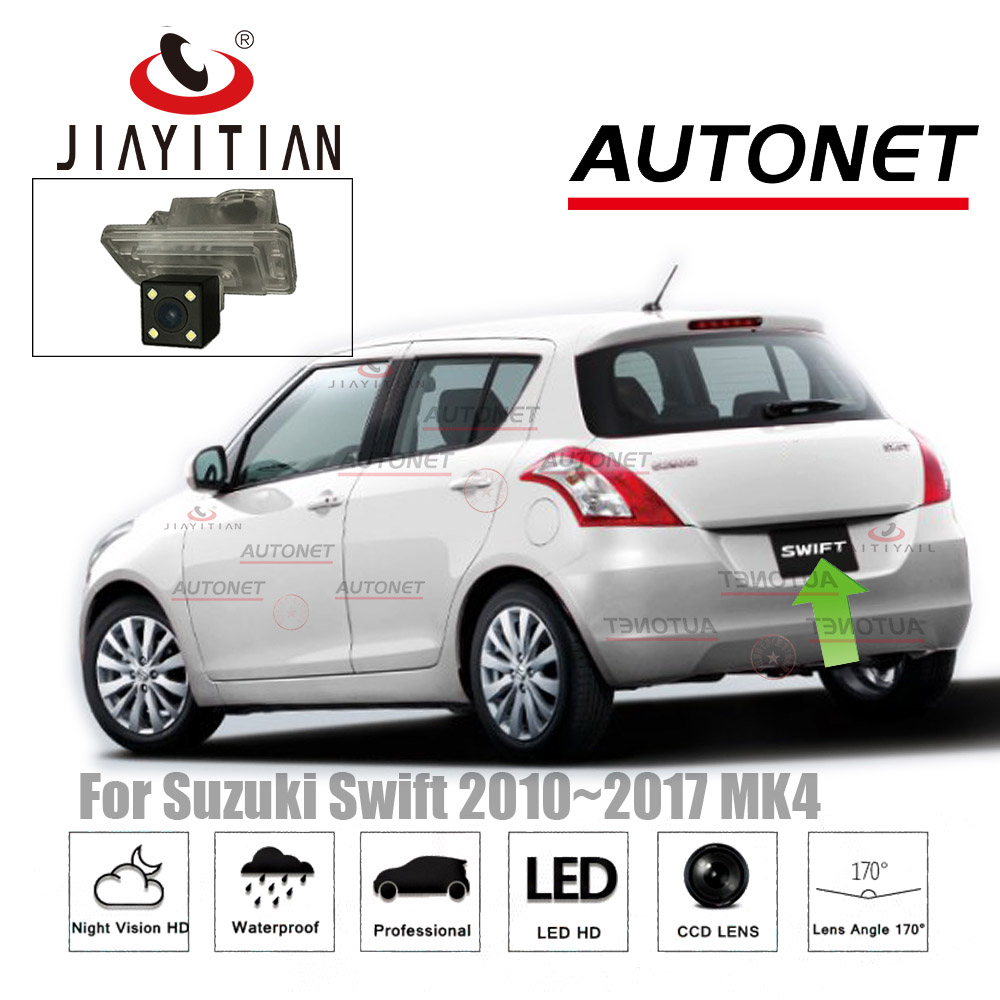JIAYITIAN Rear View camera For Suzuki Swift ZC72S ZC82S ZC32S 2010~2017 CCD Night Vision/Reversing/License Plate Camera backup цена