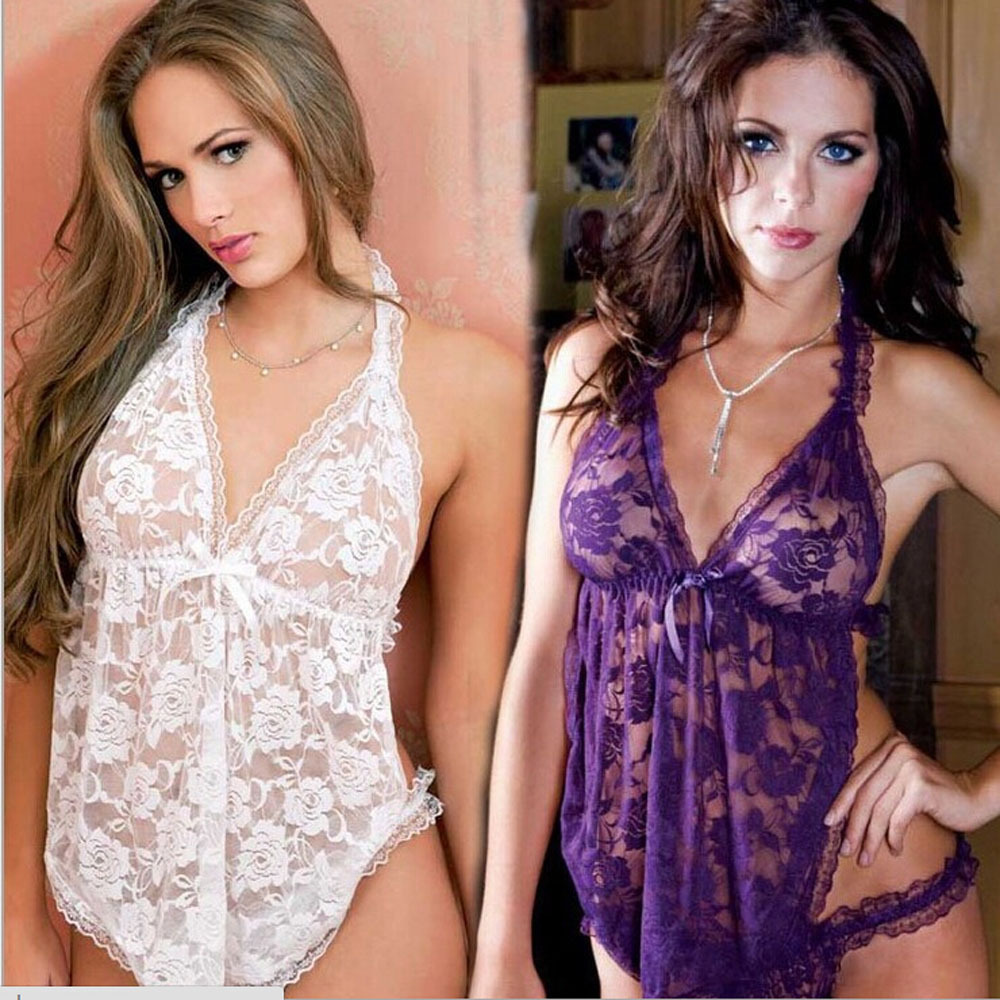 New Sexy lingerie Costume Pajamas font b Sex b font Products Underwear Sleepwear OpenFork Exposed Women
