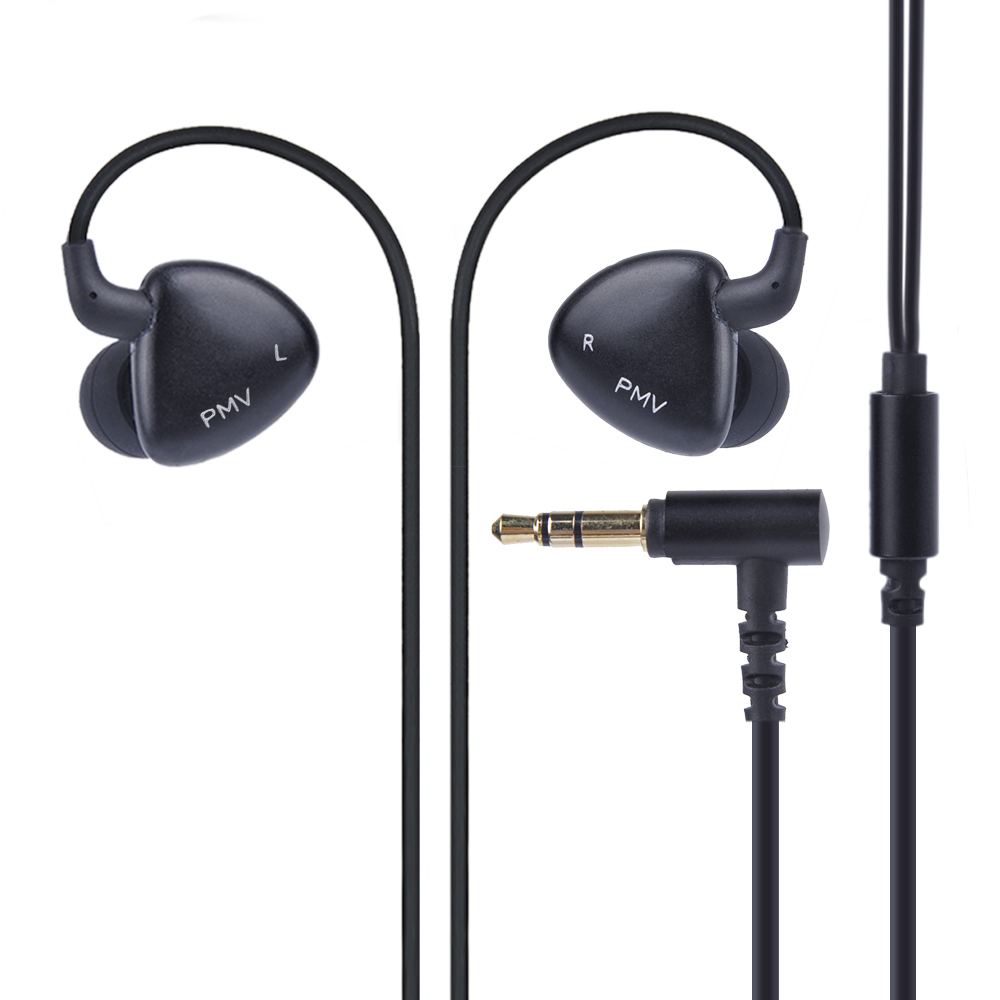 New PMV A-01 MK2  In Ear Earphone 2BA with 1DD Earphones Fever HIFI 2 Balanced Armature With Dynamic Earbuds Headset 2016 senfer 4in1 ba with dd in ear earphone mmcx headset with upgrade cable silver cable hifi earbuds