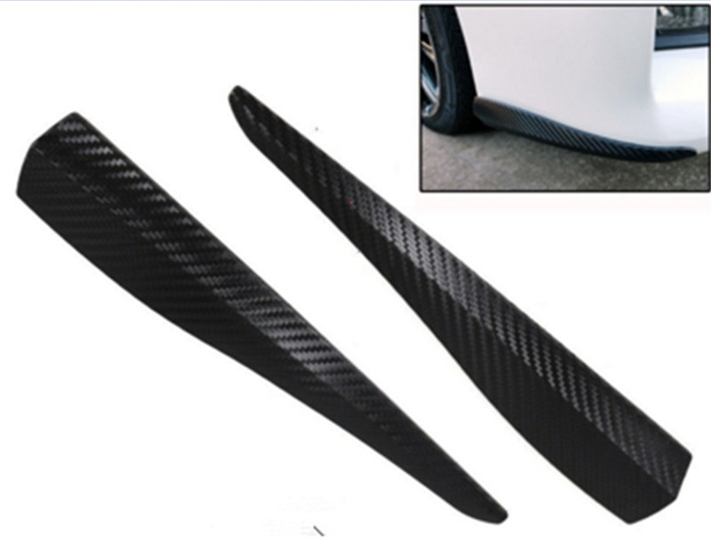 Car anti scratch strip door edge guard protection 2pcs front bumper pad soft rubber cover - Drawer bumper pads ...