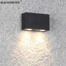 Простой открытый светодиодный настенный светильник лампы IP65 Водонепроницаемый антикоррозийных современный бра огни Сад Двор инженерных освещения
