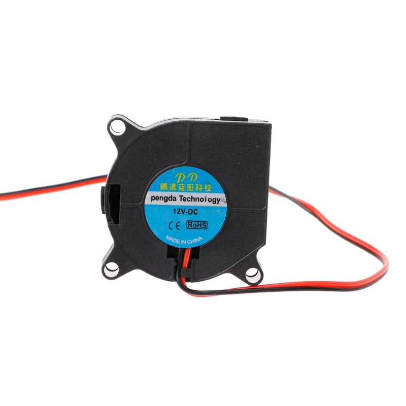 1 Pc 40mmx40mmx20mm DC <font><b>12V</b></font> 2-Pin Brushless Cooling Cooler Centrifugal Blower <font><b>Fan</b></font> 4020 Long Use image