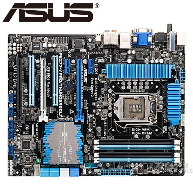 Asus P8Z77-V PRO/THUNDERBOLT BUpdater BIOS Download Drivers