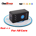 2017 Real ELM327 v1.5 Auto Scanner Bluetooth With On/Off Switch ELM 327 OBD2 OBD ii JOBD For Android Phone 25k80 Car Scanner