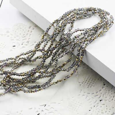 STENYA 4*3mm 135pcs Perline di Cristallo di Rondelle Sfaccettato Branello Allentato del Nodo Dell'arco Della Fascia Fai Da Te Risultati Dei Monili Della Collana che fanno Commercio All'ingrosso