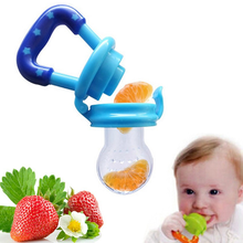 Safe baby feeding pacifier newborn boy girl fruit and vegetable feeding device child feeding nipple tool fresh food feeder-in Pacifier