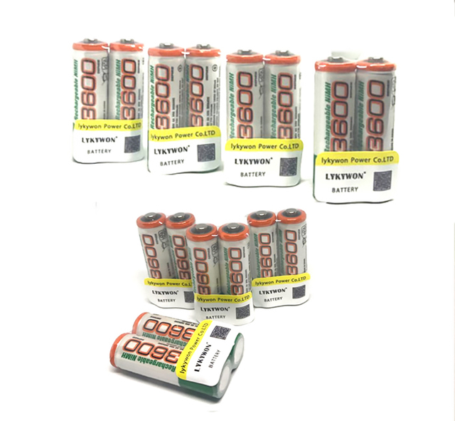 20 шт. Оригинальные аккумуляторы gp aa ni-mh nimh 1.2 В 3600 мАч GP 3600 pilha recarregavel аа ni-mh для цифровой камеры игрушки
