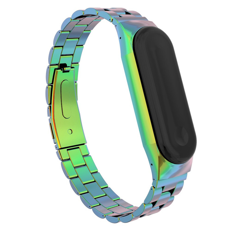 Sport Metal Mi Band 3 Wrist Strap For Xiaomi Mi Band 3 Bracelet Smart Band Stainless Steel Wrist Watch Bands купить в Москве 2019