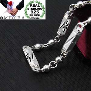 Chain Necklace 925-Sterling-Silver Fashion European Man Male Geometric Party NL208 Wedding-Gift