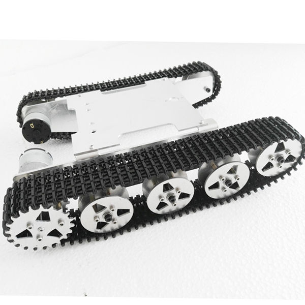 Aluminum Alloy Robot Tank Crawler Chassis For Arduino Education Competition цена