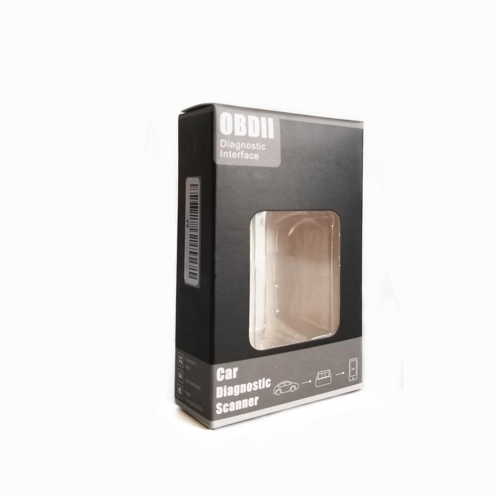 Super Mini ELM327 V1.5 Bluetooth obd2 Adapter ELM 327 V1.5 Auto excellent Scanner Diagnostic Tool for Android V01L2