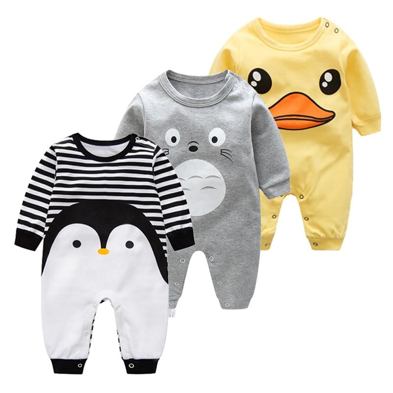 2018 बेबी एनिमल रोमर्स किड्स - बेबी कपड़े