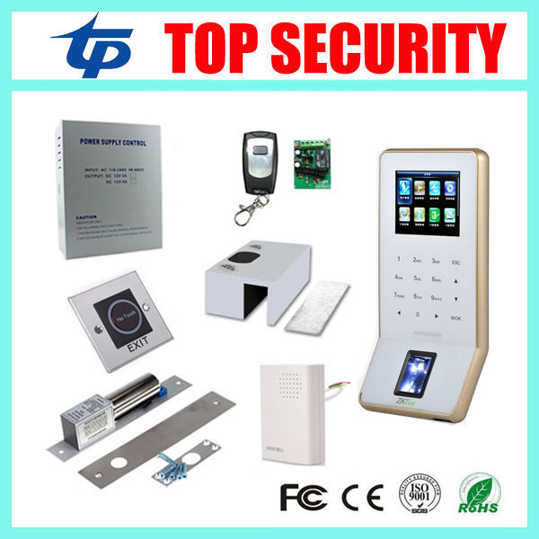 DIY F22 fingerprint access control system WIFI TCP/IP fingerprint door reader finger time attendance with software f807 biometric fingerprint access control fingerprint reader password tcp ip software door access control terminal with 12 month