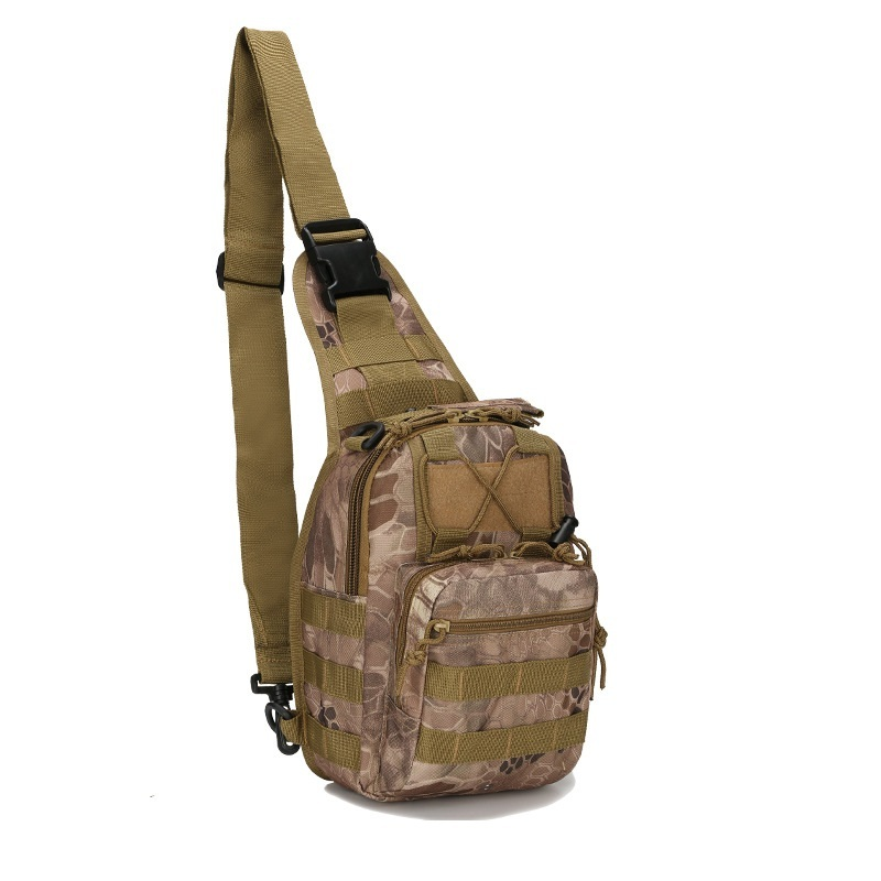 цена на Men Sport Shoulder Backpack Outdoor Molle Camouflage Bag Waterproof Military Rucksack Tactical Bags for Climbing Fishing Cycling