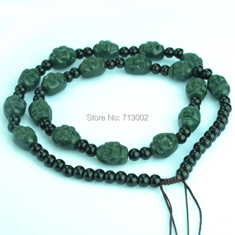 Event & Party Cheap Price Natural Milky Jade Pendant Chalcedony Dragon Phoenix Jadeite Bead Necklace Amulet Lucky Festive & Party Supplies