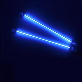 Wsparcie EE wysokiej jakości 2 sztuk 12 #8222 30cm CCFL z zimną katodą Neon świetlówka lampa samochodowe oświetlenie Led tanie i dobre opinie EE support CN (pochodzenie) Oświetlenie wnętrza 0 1KG Uniwersalny CXCD30