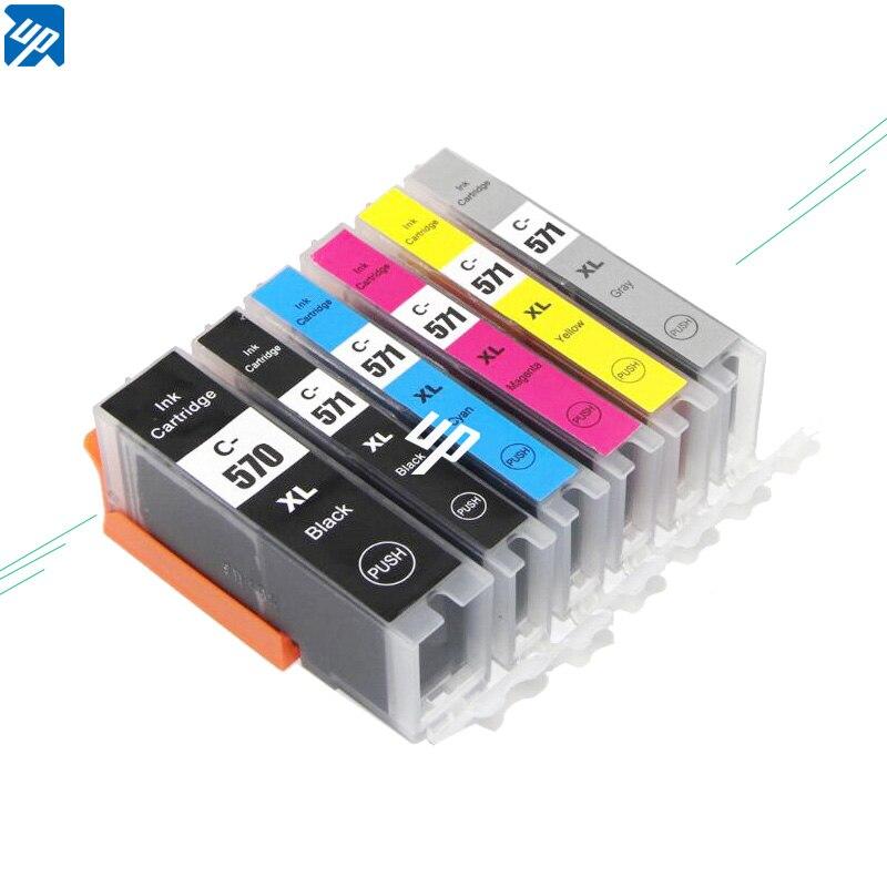 18pk 570 571 PGI 570 CLI 571 PGI570 ink cartridges For canon TS9050 9055 TS8050 TS8051