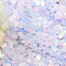 15 г Переливающаяся сверкающая оболочка блестящее конфетти 7 мм фиолетовое для детского душа конфетти вечерние разбросы стола Декор Сделай Сам