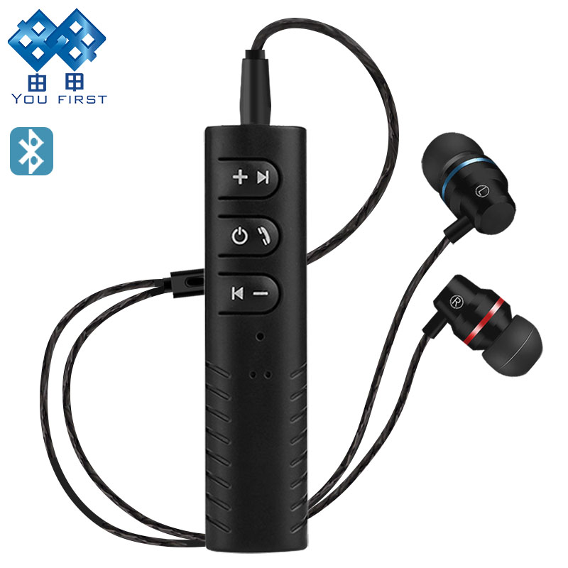 YOU FIRST Wireless Earphones Sport Bluetooth Handsfree With Microphone Bluetooth Earphone wireless Headphones For Mobile Phone top mini sport bluetooth earphone for no1 phone s5 smartphone earbuds headsets with microphone wireless earphones