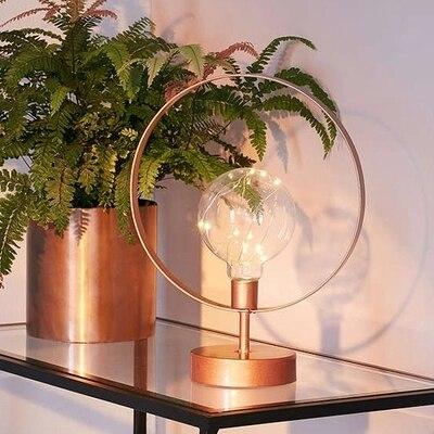 ZYY Творческий Лофт теплый золотой Настольные лампы Ретро творческий американский Стиль Освещение для Спальня исследование декоративные w300...
