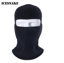 ICESNAKE Motorcycle Winter Breathable Warmer Balaclava Fleece Wool Thermal Windproof Bicycle Snowboard Neck Full Face Mask