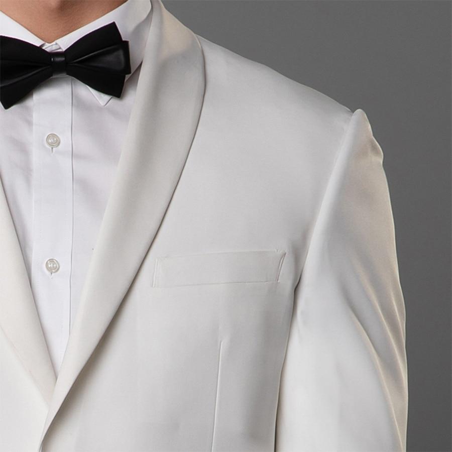 Men 39 s Suit Slim Fit Two Button 2 Piece Suit Blazer Dress Business Jacket amp Pants Men Suits for Wedding Party in Suits from Men 39 s Clothing