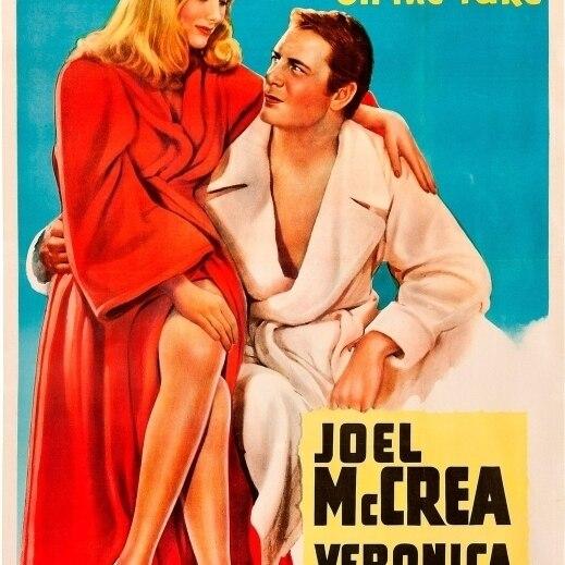 Sullivan/'s travels Veronica Lake movie poster print