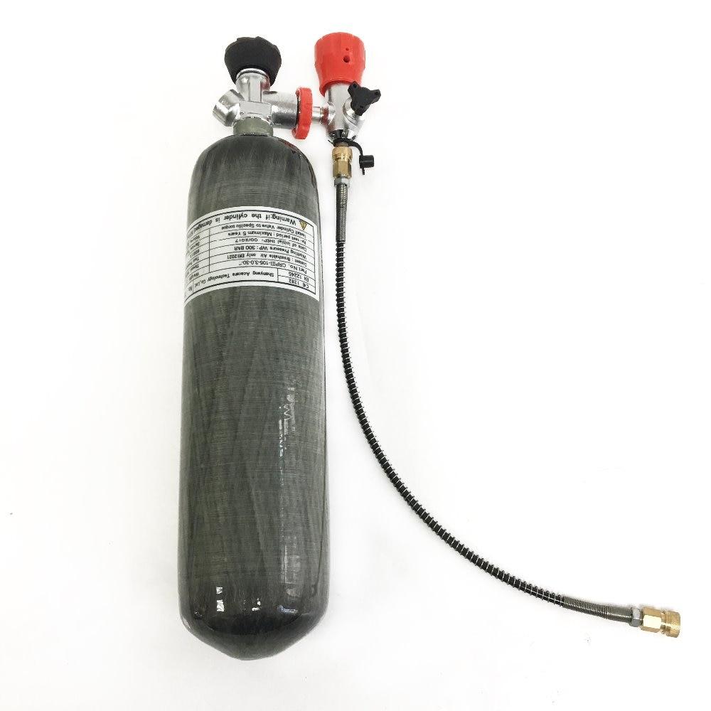 Feuer-atemschutzmasken Ac102 Zylinder Hpa Kleine 2l Paintball Air Gun Jagd Scuba Sauerstoff Zylinder Pcp Airforce Condor Atemschutzgerät 4500psi 2019 Sicherheit & Schutz