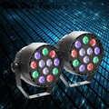 2 шт./лот, высокое качество, дискотечный свет 12x3W светодиодный PAR-прожектор RGBW DMX, светодиодные лампы для вечеринок, сценическое освещение, стр...