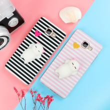Charming Squishy Phone Cases for Samsung Galaxy J3 J5 J7 A3 A5 A7 2016 2017 S6 S7 Edge S8