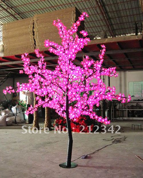 2m Height 1008pcs Super Bright Led Bulb With Pink Color