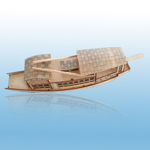Free shipping DIY wool nanhu boat assembling model ship Educational Toy Handmade children Gift Education model Yacht
