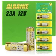 5 шт./1 упаковка 23A батареи 12V сигнализации-пульт дистанционного главным образом высушите щелочной Батарея 21/23 23GA A23 A-23 GP23A RV08 LRV08 E23A V23GA