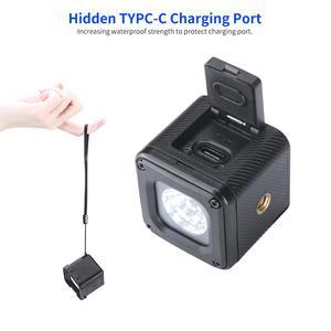 Image 3 - 울란지 l1 프로 방수 조광기 led 비디오 라이트 5600 k w 20 색 필터 드론 dji osmo 포켓 gopro 7 dslr 카메라 용 led 램프