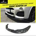 F26 x4-car styling avental de fibra de carbono auto car frente lip spoiler para bmw f26 x4 m carros esporte apenas 2015up