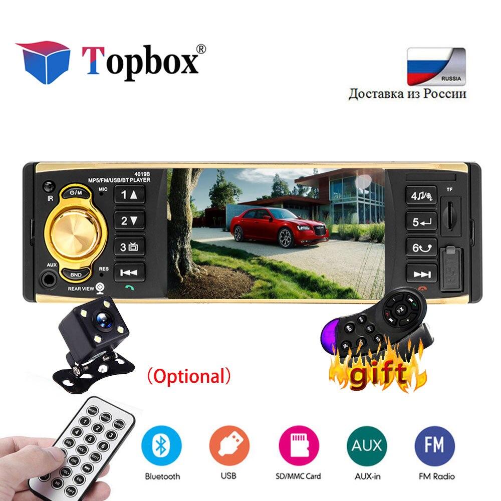 Topbox 1 Autoradio Autoradio Autoradio stéréo Bluetooth 4