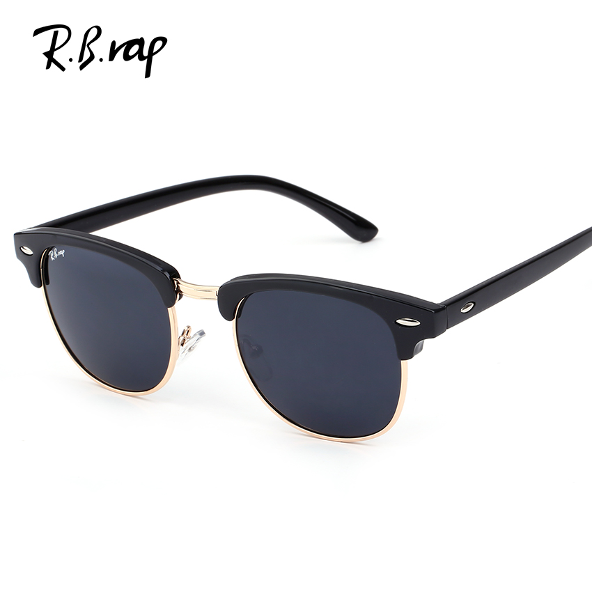 2017 rbrap rimless sunglasses women men designer mirror. Black Bedroom Furniture Sets. Home Design Ideas