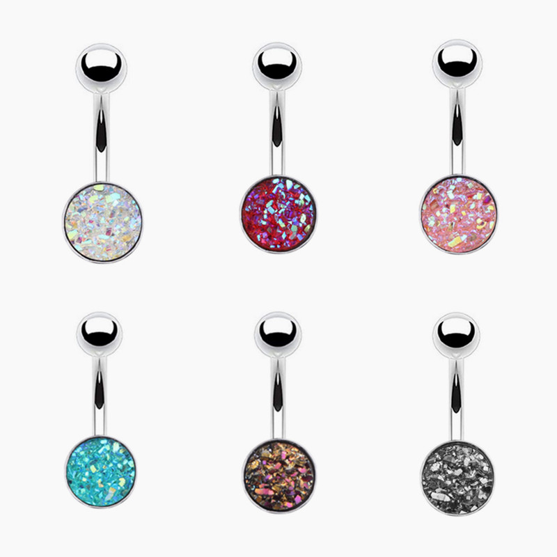 1pc Sexy Bar Navel Piercing Belly Button Ring 316L Steel Navel Jewelry Body Piercing Jewelry Women Ring Piercing Ombligo Jewelry body jewelry