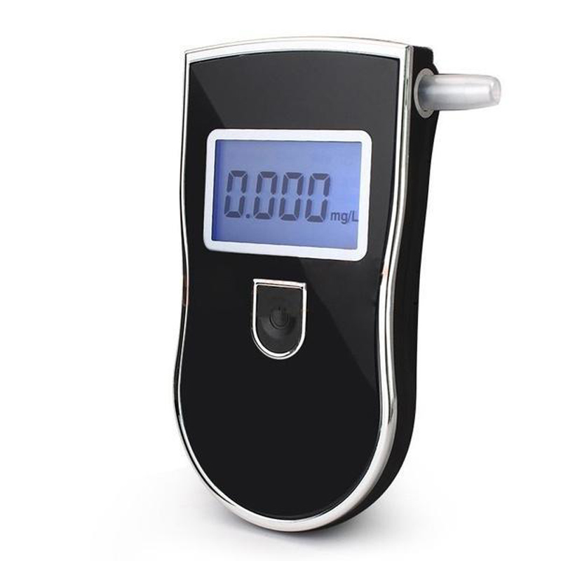 Professional LCD Breath Alcohol Breathalyzer Tester Test Detector Police Alcohol Parking Breathalyzer