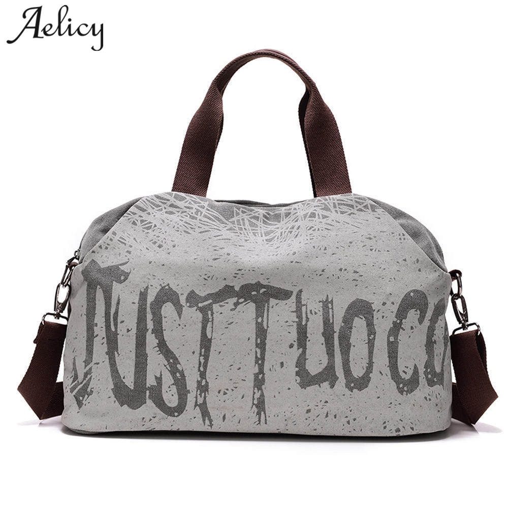 83b45a69f Aelicy Casual Women Large Capacity Tote High quality Canvas Shoulder Bag