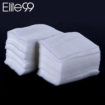 Elite99 1000 teile/los Baumwolle Wipes Nail art Werkzeuge Entfernung Tücher Lint Papier Pad Maniküre Reiniger Nagel Gel Polish Remover Baumwolle pad