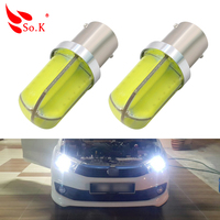 2PCS 1156 BA15S P21W White Light Reverse Light Car Auto Turn Signal Lights Backup Reverse Bulb