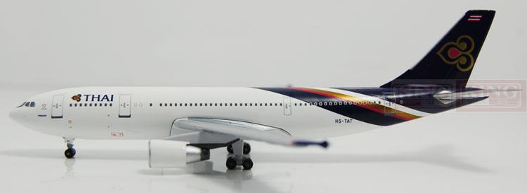 Aeroclassics Thailand Airlines HS-TAT 1:400 A300B4-600R commercial jetliners plane model hobby phoenix 11132 thailand airlines hs tbg 1 400 a330 300 commercial jetliners plane model hobby