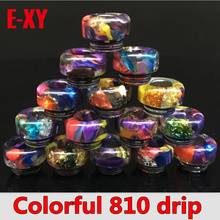 Фотография Starry Sky 810 PEI drip tips TFV8 TFV12 Drip Tips Electronic Cigarette wide bore Mouthpiece for Kennedy Mad Dog Tank atomizer